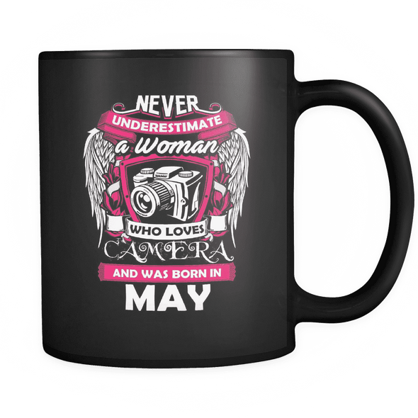 May Women Who Loves Camera Mug
