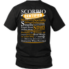 Limited Edition ***Scorpio Certified Back Print*** Shirts & Hoodies