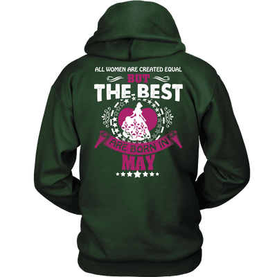 Limited Edition ***Best Are Born In May Back Print*** Shirts & Hoodies