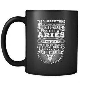 Aries The Dumbest Thing Mug