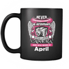 April Women Who Loves Camera Mug