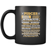 Pisces Long Quote Mug