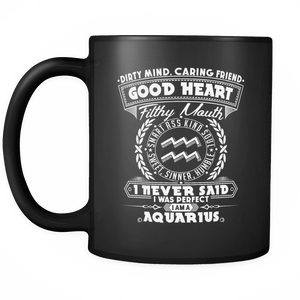 Good Heart Aquarius Mug