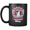 May Women Who Loves Pitbull Mug