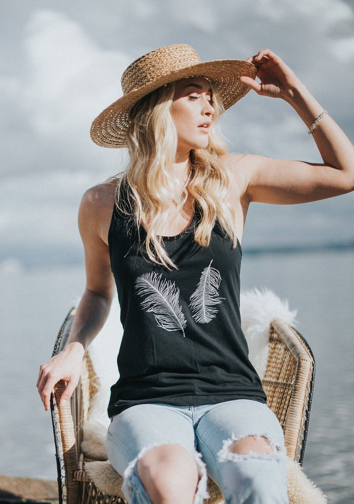 Light as a Feather Tank top Campton Clothing Company®