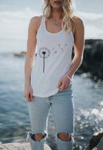 I'll Fly Away~ Ladies Flowy Racerback Tank Tank Top Campton Clothing Company®