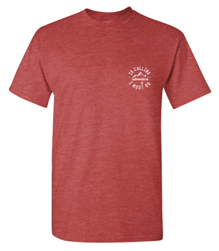 Adventure Is Calling Mens tshirt Campton Clothing Company®