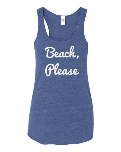 Beach, Please Tank