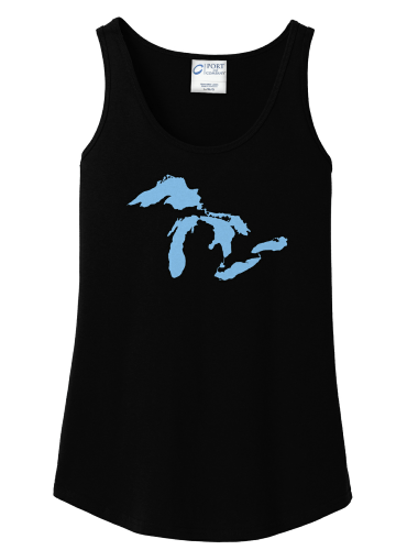 Our Great Lakes~ Ladies Tank Tank top Campton Clothing Company®