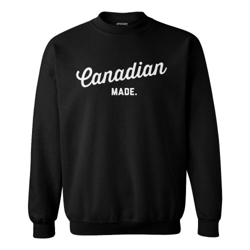 Canadian Made Crewneck Sweatshirts & Hoodies Campton Clothing Company®