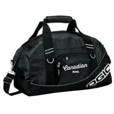 Canadian Made~Half Duffle Bag Campton Clothing Company®