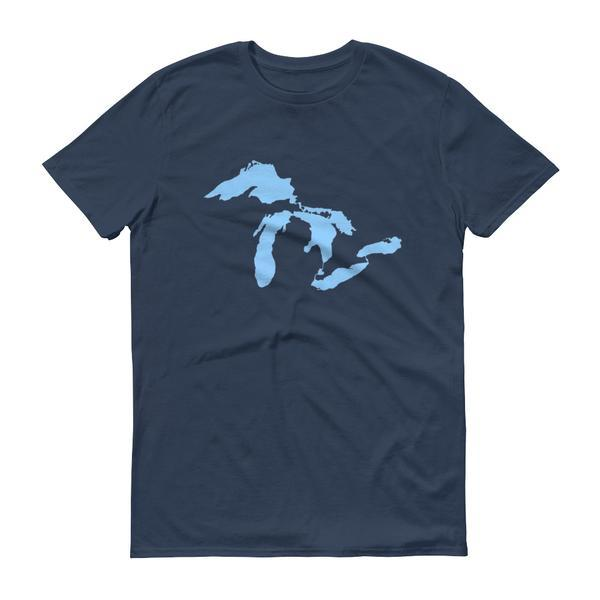 Great Lakes- Men's Vintage Tshirt