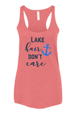 Lake Hair Don't Care Tank Top Campton Clothing Company®