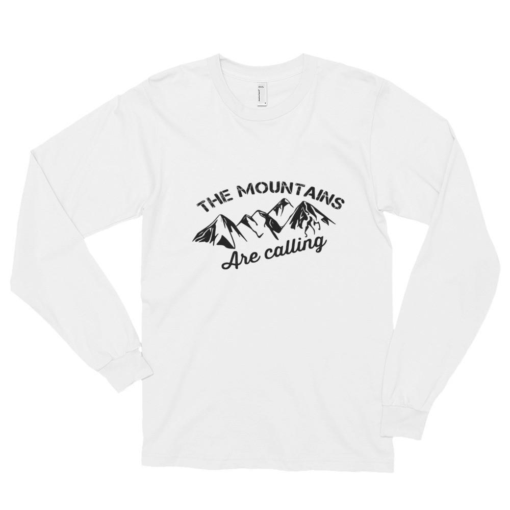 The Mountains are Calling- Ladies & Men's Long sleeve
