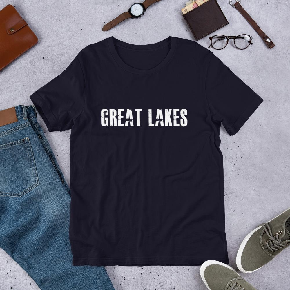 Great Lakes University Mens tshirt Campton Clothing Company®