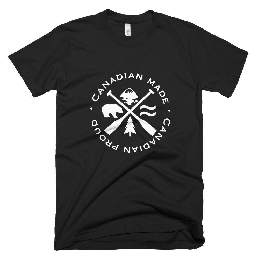 Shop Proudly Canadian Men's Tee - Campton Clothing Company®