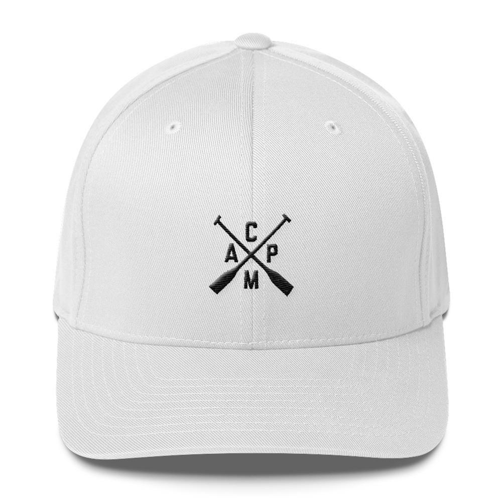 Camp Hat in White from Campton Clothing Company®
