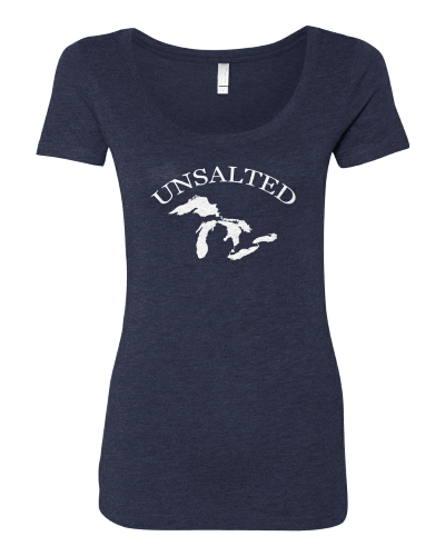 Unsalted Great Lakes~Ladies Tshirt