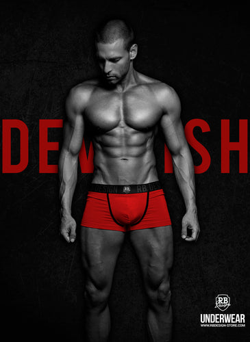 Men's RED Boxer Briefs