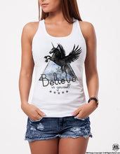 womens tank top unicorn fashion tee