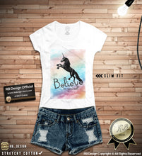 believe in yourself womens fashion t-shirts