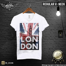 uk flag men clothes graphic tee