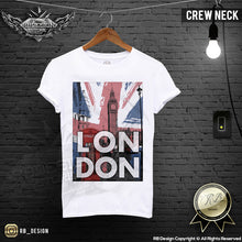 mens fashion london tees crew neck