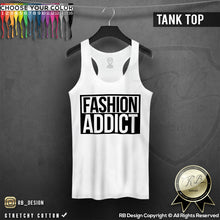 rb design fashion addict tank top