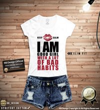 rb design lips t shirts for women