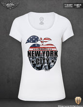 New York Women's T-shirt The BIG APPLE NYC Tank Top WD69