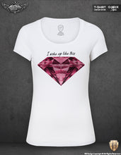 womens purple diamond t-shirts