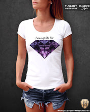 womens diamond t-shirt