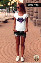 womens diamond tee shirts