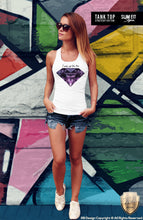 diamond tank top ladies outfit