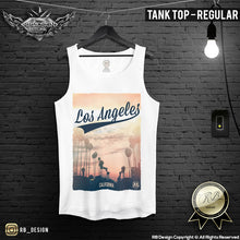 los angeles beach tank top