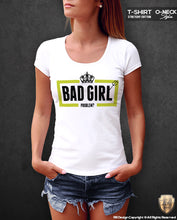 bad girl graphic tee for women