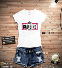 bad girl womens t-shirt