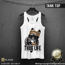 french bulldog crown sunglasses tank top