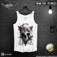 mens graphic muscle fit top