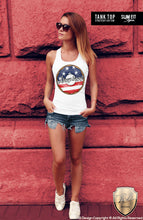 printed womens donut tank top