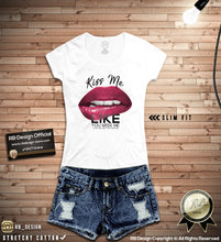 Pink Lips Women's T-shirt Funny Saying Tank Top WD094 P
