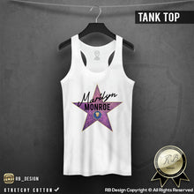 hollywood star printed star womens tees