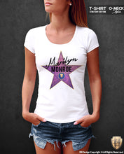 monroe womens luxury t-shirt