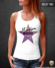 marilyn monroe star womens top