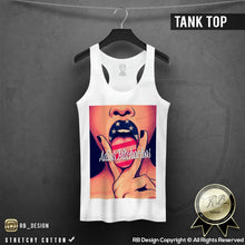 womens lips tank top