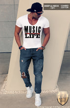 slim fit t-shirts mens street style