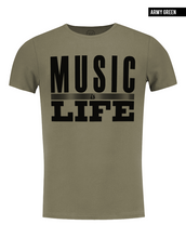 khaki mens fashion t-shirt