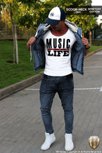 music is life fashion mens outfit