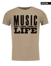 crew neck mens music t-shirt