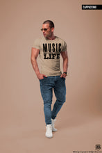 Men's T-shirt Music Is Life / color option / MD109
